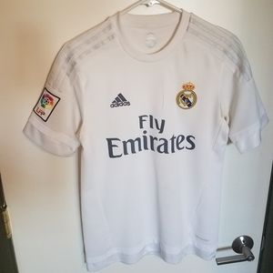 Real Madrid 2015-2016 Home Jersey